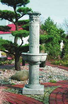 Spring Brunnen Springbrunnen