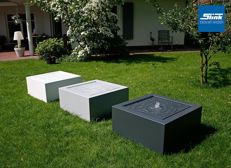 wasserspiele und teichfilter | water features, garten and gardens, Garten und Bauten
