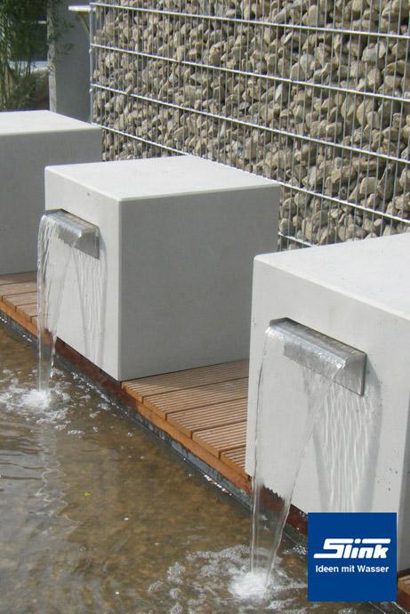 Moderne Brunnen Fur Den Garten ? Reimplica.info Wasserfalle Fur Den Garten